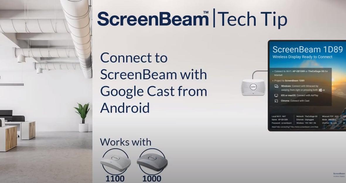 AndroidからGoogle Castと接続