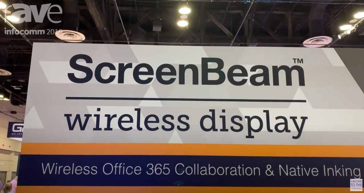 InfoComm 2019 Debut Wireless Display and Collaboration without Apps