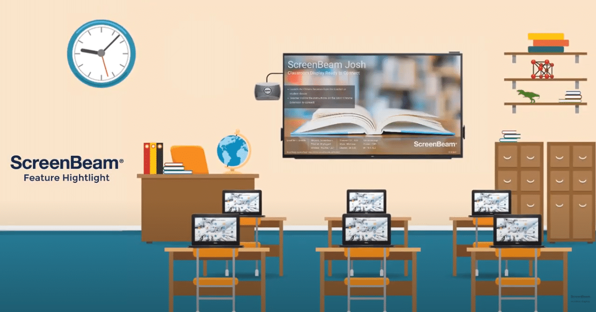 ScreenBeam Feature Highlight – Classroom Commander for Chromebooks