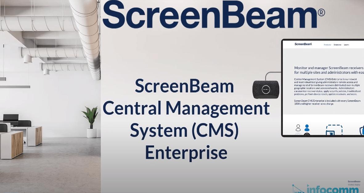 ScreenBeam Central Management System (CMS) Enterprise