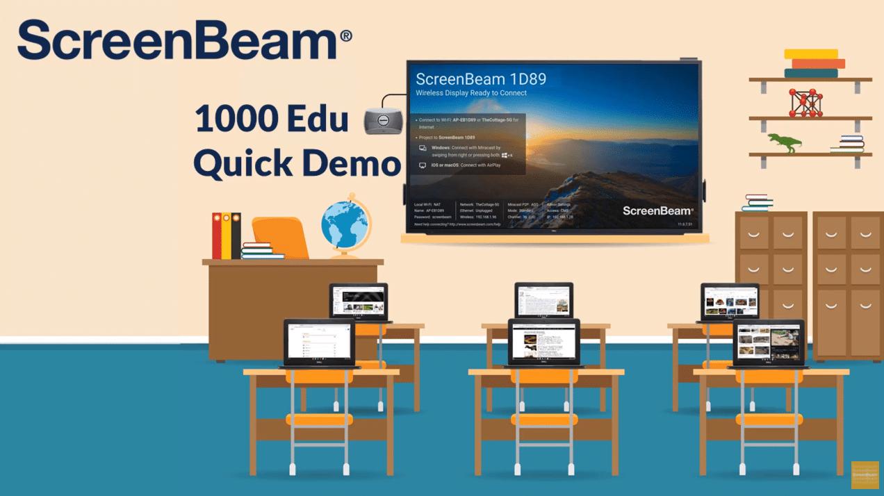 ScreenBeam 1000 EDU Quick Demo