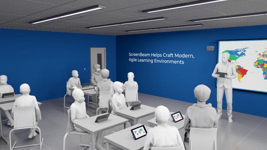 Introducing ScreenBeam 1000 EDU with Classroom Commander