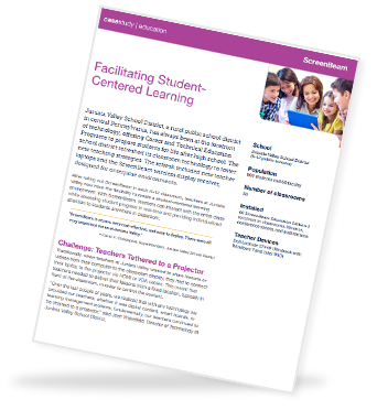 Click Here to read the case study on Facilitating Student-Centered Learning